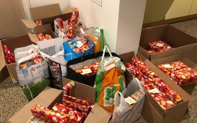 Sinterklaas cadeaus voor Voedselbank